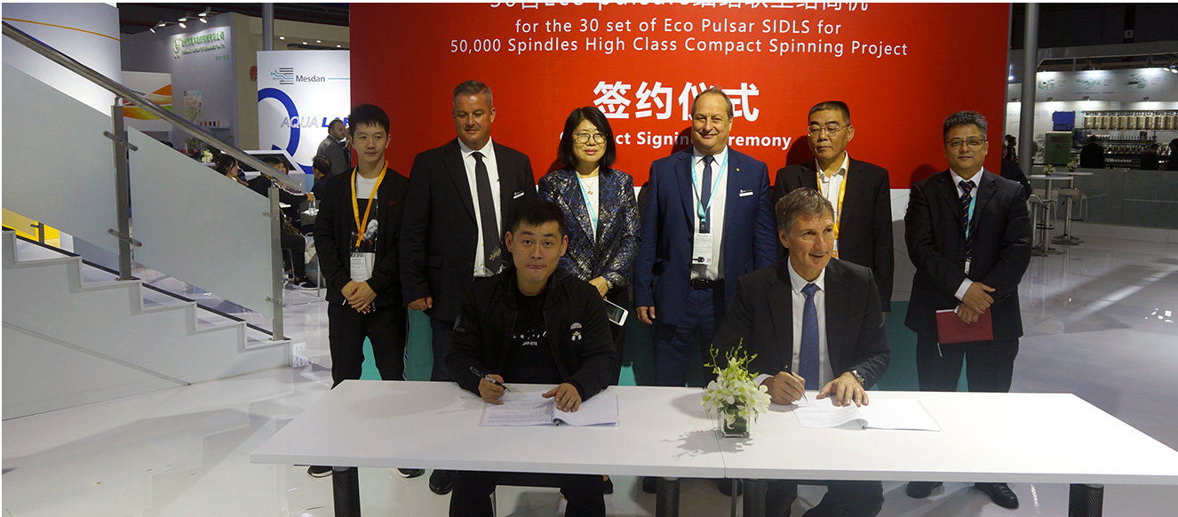 SIGNING CEREMONY ALLA FIERA ITMA ASIA 2018 A SHANGHAI